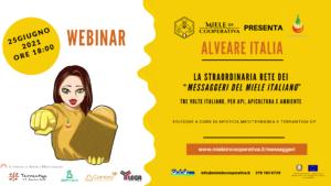 Read more about the article Venerdi 25 giugno, ore 18:00, webinar del Progetto Alveare Italia.
